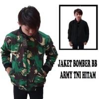 Jaket Bomber Bb Loreng Tni Hitam Parka Sweater Hoodie Jumper