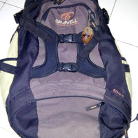 Tas Daypack outdoor merk Gravell type lama original second2nd