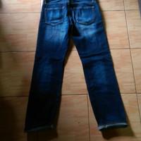 celana jeans UNIQLO UJ JAPAN SELVEDGE kondisi new size 28