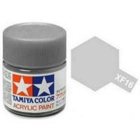 Tamiya Acrylic Paint Colour XF-16 Aluminum Flat Matte 23ml