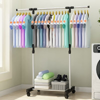 Standing hanger - stand hanger - gantungan baju - rak portable