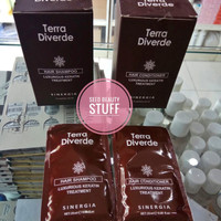 TERRA DIVERDE LUXURIOUS KERATIN TREATMENT Shampo/Conditioner 25ml