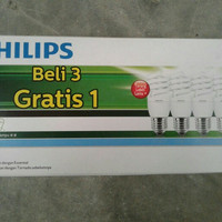 lampu philips tornado multipack 15watt