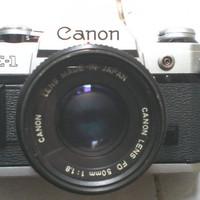 Kamera SLR Analog Canon AE-1