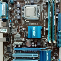 Motherboard Asus P5G41T-M LX LGA775 DDR3 + RAM DDR3 4GB + Proc Q8300