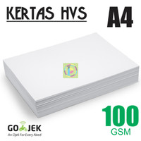 Kertas Print Fotocopy - HVS A4 100 gram