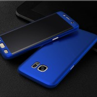 Jual Casing Samsung Galaxy Note 3/Note 5 Case Full 360 Free Tempered Glass Murah