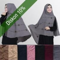 Jibab hijab syar'i Modern Style modis kekinian produk terbaru original