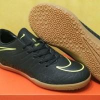 DISKON Sepatu Futsal Nike Hypervenom II Blackout Volt