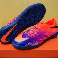 MURAH Sepatu Futsal Nike Hypervenom II Vivid Purple Sol Blue