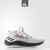 ORIGINAL Adidas Dame 4 Rip City Sepatu Men Basket White BY3759