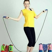 Skipping Rope / Lompat Tali Colorful Ada Counter/Penghitung