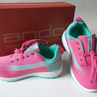 Sepatu Kets Anak Perempuan Olah Raga Cewek Sekolah Wanita Jogging