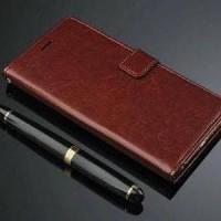 Samsung Galaxy C7 Pro Retro Wallet Leather Flip Cover C DISKON