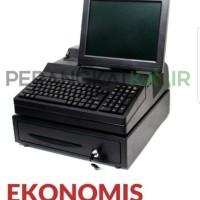 Komputer meja untuk kasir atau restoran dengan CPU dan DISKON