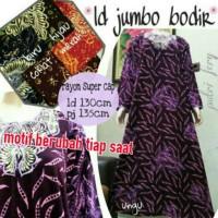 Jual Daster Muslim jumbo bordir baju tidur santai longdress batik Murah