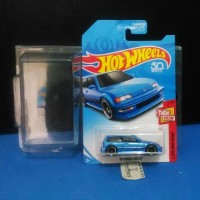 Hotwheels hot wheels '90 Honda Civic EF Nouva Nova Blue Biru KMart