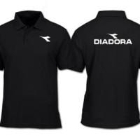 Kaos Polo Shirt Baju Diadora Sport Olahraga Running Futsal JErsey Gym