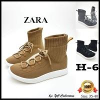 Sepatu ZARA Boots YC-H-6  Sol 3cm.  Tinggi Boots 13cm