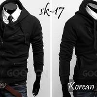 Jaket parka/jaket kulit/jaket bomber/korean style casual jacket SK-17