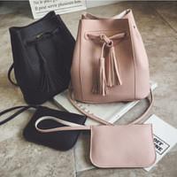 UT1813 -  1814 miniso serut kuncir. tas import bag batam/sling bag