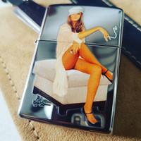 Zippo Pin Up Girl Series NO BOX / Zippo Original