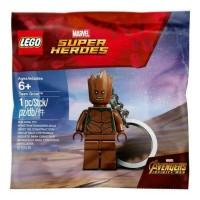 Lego polybag keychain marvel superheroes teen groot infinity war