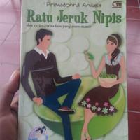 Harga buku bekas novel remaja ratu jeruk nipis primadona   antitipu.com