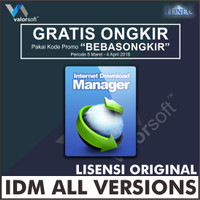 Lisensi Key Internet Download Manager (IDM) ORIGINAL - LIFETIME