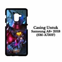 Casing SAMSUNG A8 PLUS 2018 mobile legends 5 Hardcase Custom