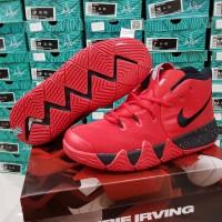 Sepatu Basket Kyrie 4 Deceptive Red Black Merah Hitam