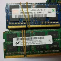 RAM Laptop 2GB DDR3 Netbook Sodimm Memory PC 8500 / 10600