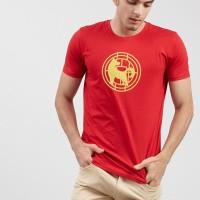 T-shirt Salt n Pepper Men T-Shirt Red 010 - TS SNP 010 1801