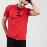 T-shirt Salt n Pepper Men Polo Shirt Red 002 - PS SNP 002 1801