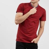 T-shirt Salt n Pepper Men Polo Shirt Maroon 001 - PS SNP 001 1801