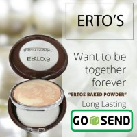 ERTOS Baked Powder - Bedak Make Up Wajah dan Muka - ERTO'S Skincare