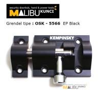grendel / slot / kunci pintu / jendela / lemari aluminium / kempinsky