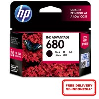 HP 680 Black Ink Cartridge (F6V27AA)