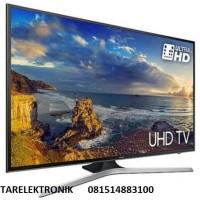 TV LED SAMSUNG 40INCH SMART  TV UHD 4K FLAT MU6100 GARANSI RESMI