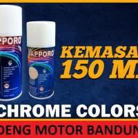 Kecil Sapporo Chrome Crome Cat Semprot Pylox Merek Saporo Paint 150ml
