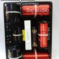 Pasif Crossover  PA 2215  Profesional speaker  double 15 inch. Diskon
