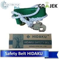 Safety Belt Merk Hidaku 'Sabuk Pengaman'. Proyek Bangunan.