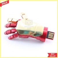 Flashdisk / Flash Disk USB 2.0 Sarung Tangan Iron Man 16 GB