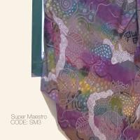 Kain Batik Tulis Solo Abstrak Super Maestro Kode SM3
