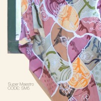 Kain Batik Tulis Solo Abstrak Super Maestro Kode SM5