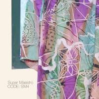 Kain Batik Tulis Solo Abstrak Super Maestro Kode SM4