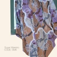Kain Batik Tulis Solo Abstrak Super Maestro Kode SM6