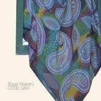 Kain Batik Tulis Solo Abstrak Super Maestro Kode SM7