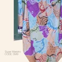 Kain Batik Tulis Solo Abstrak Super Maestro Kode SM9