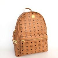 Tas Ransel MCM Stark Backpack LARGE - Orange Brown - ORIGINAL